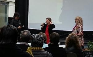Rachal Caplan, SFGFF director w/Tiny film directors
