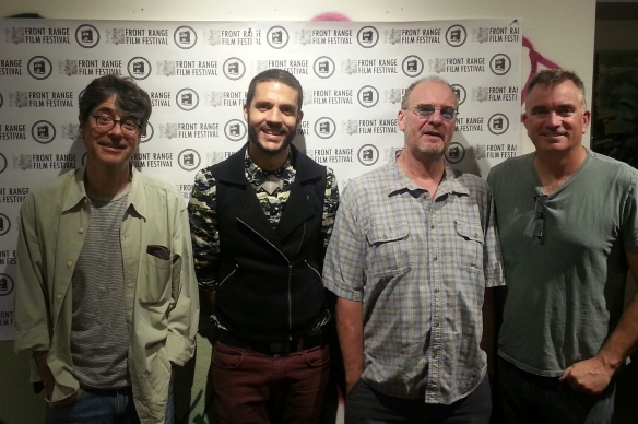 Four of the fabulous filmmakers at Front Range Film Festival