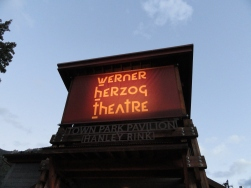 Werner Hertzog Theater -- once the ice rink!