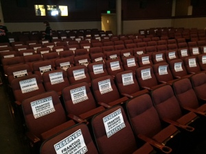 Sea of reserved signs